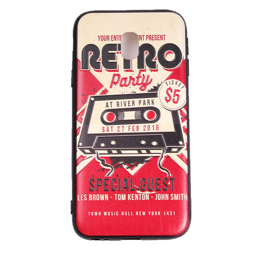 Retro Party - Suojakuori, Samsung Galaxy J3 (2017)