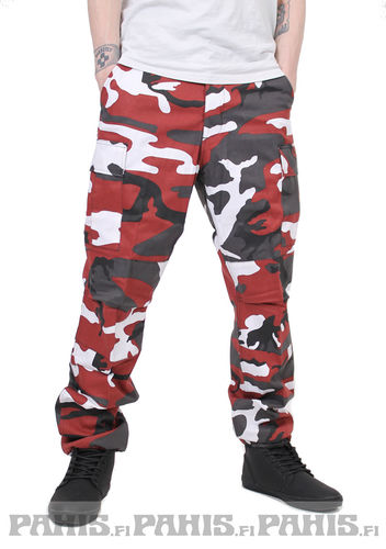 Rothco Ultra Force Red Camo - reisitaskuhousut