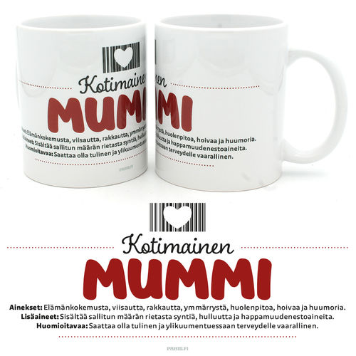 Kotimainen Mummi - Muki