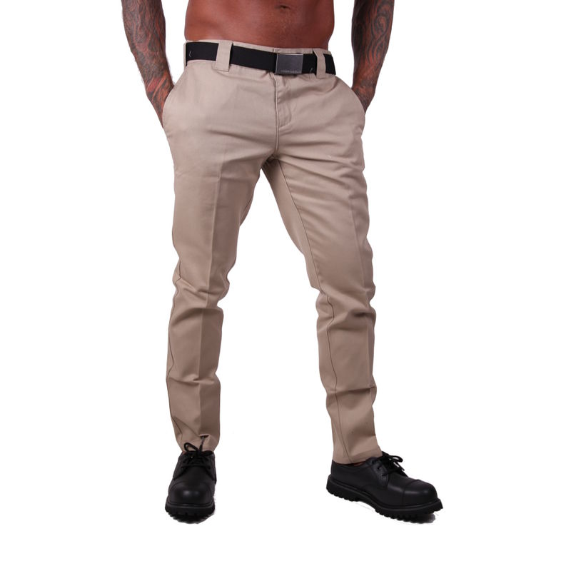 Dickies Slim Fit Work - Housut, Khaki