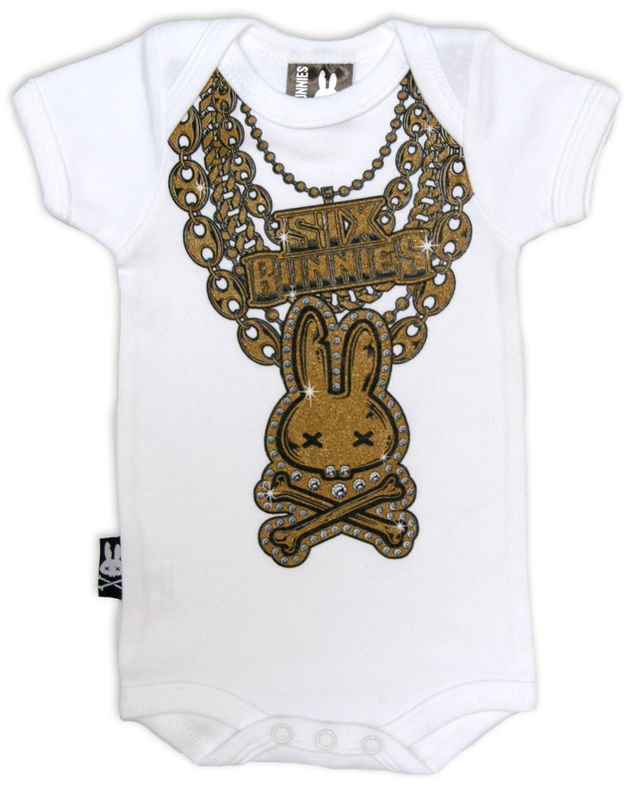 Six Bunnies Bling - body
