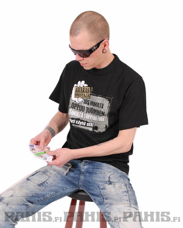 Asiakasomistaja T-paita · Asiakasomistaja T-paita · Topit ja paidat suomesta b3760db761
