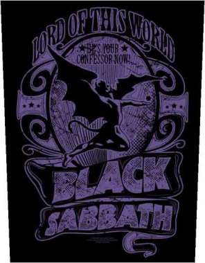Black Sabbath Lord Of This World - Kangasmerkki, selkä