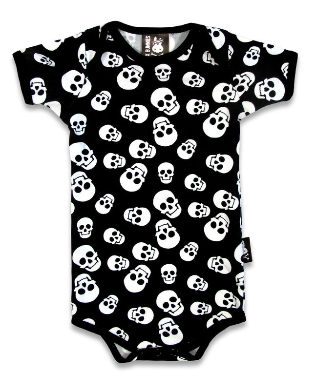 Six Bunnies Polka Skulls - body