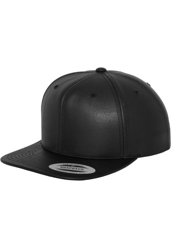 Flexfit Leather Imitation - Snapback