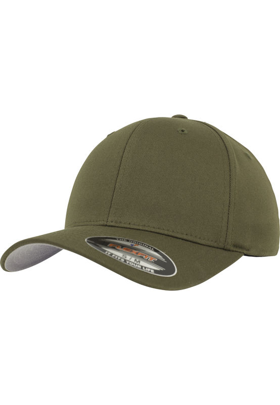 Flexfit Wooly Combed - Lippis, olive