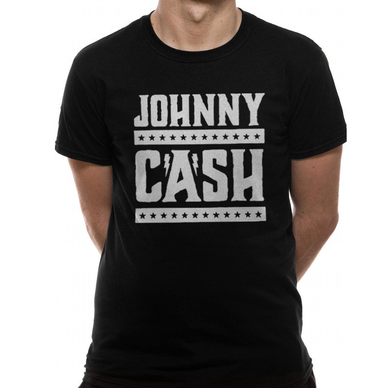 Johnny Cash Simple Logo - T- paita