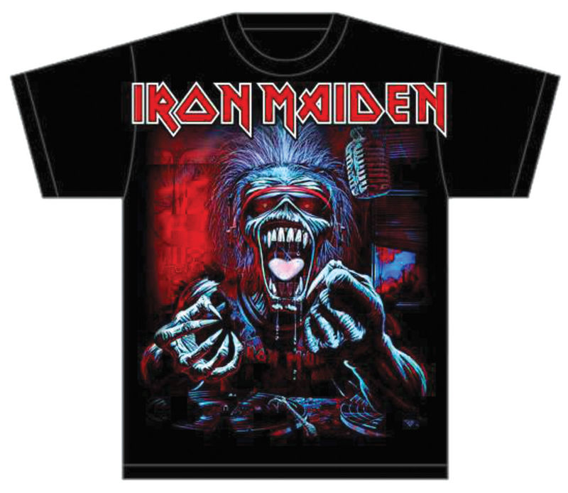 Iron Maiden A Real Dead One - T-paita