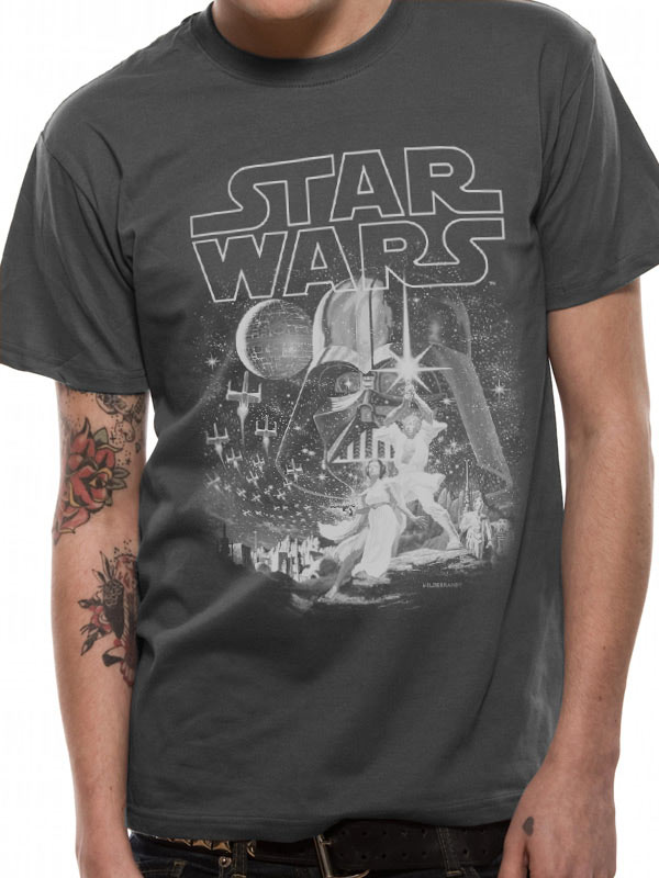 Star Wars Classic New Hope - T-paita