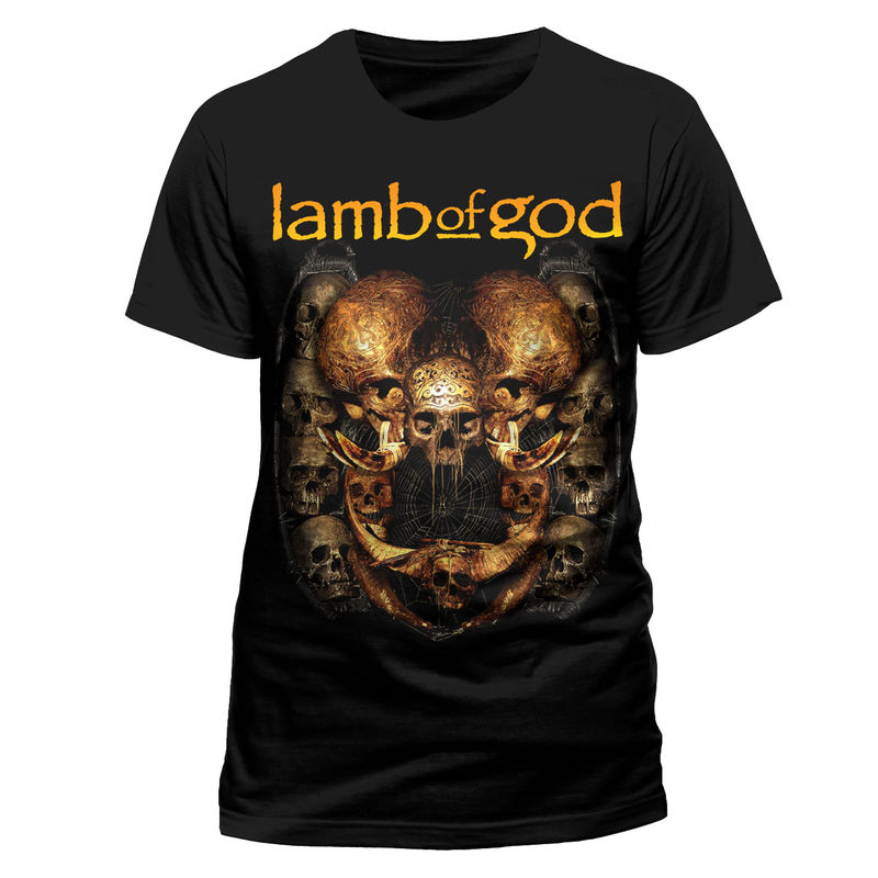 Bändipaidat Lamb of God Shrine - T-paita