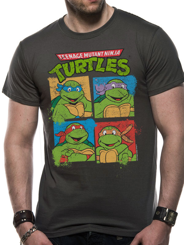 Teenage Mutant Ninja Turtles Group - T-paita
