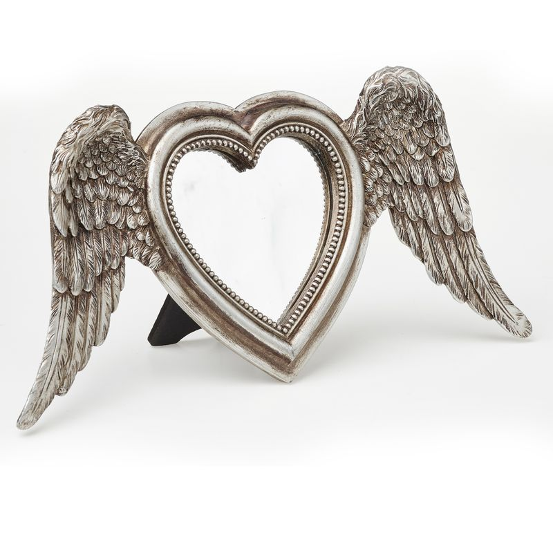 Alchemy Gothic Winged Heart - peili