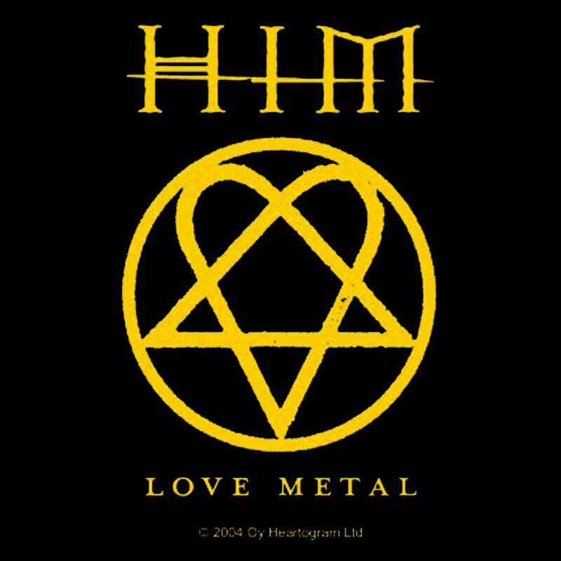 Him Love Metal - Kangasmerkki