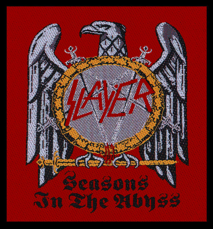 Slayer Seasons In The Abyss - Kangasmerkki