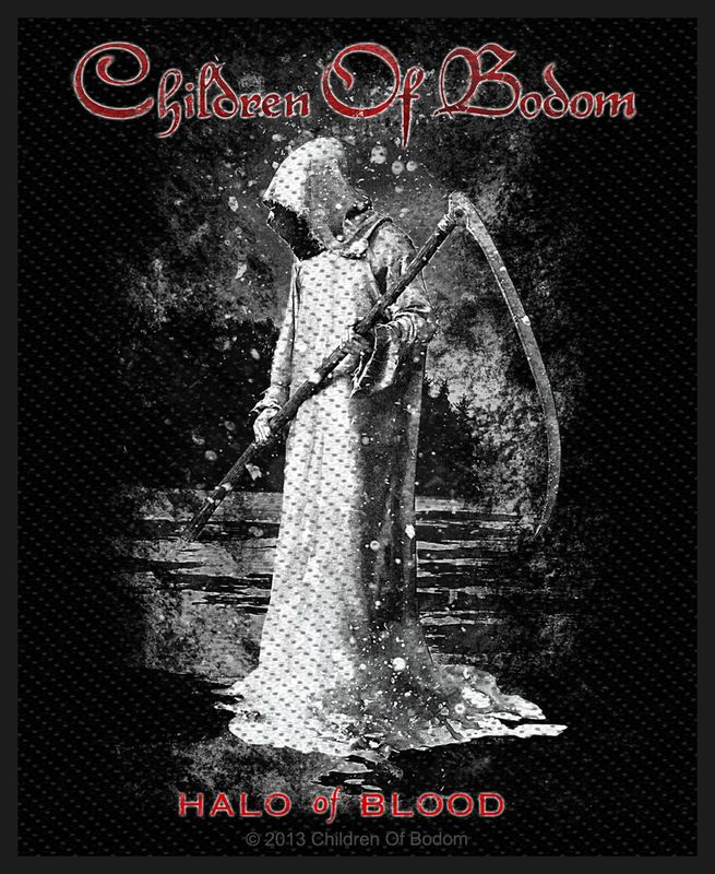 Children Of Bodom Halo Of Blood - Kangasmerkki
