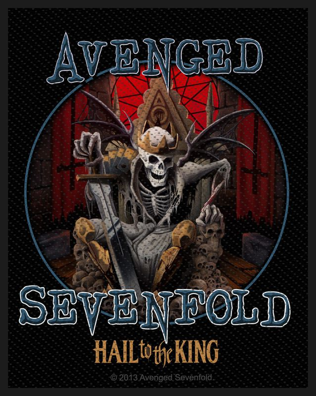 Avenged Sevenfold Hail To The King - Kangasmerkki