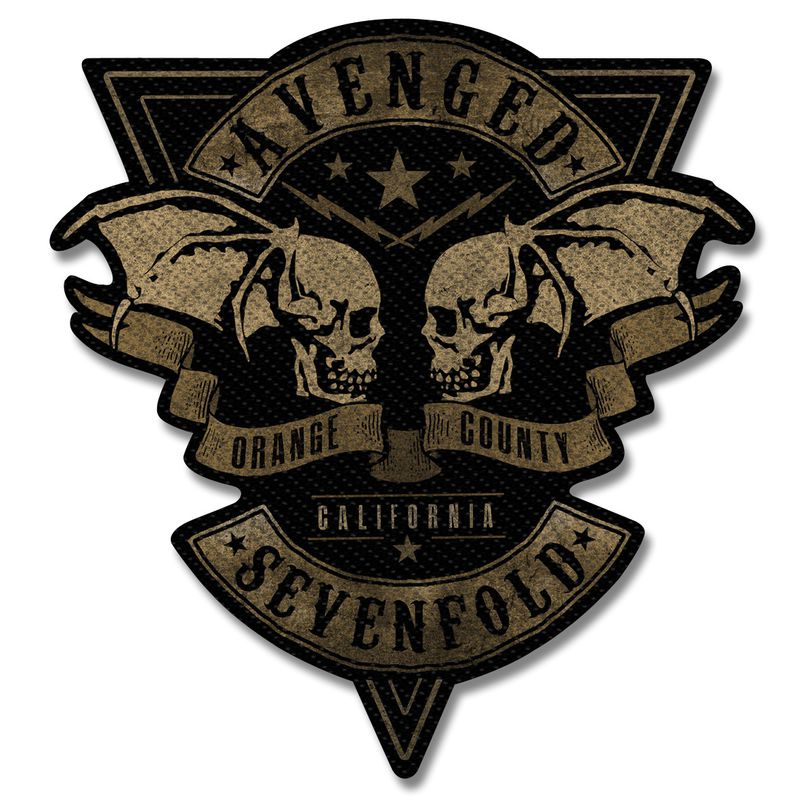 Avenged Sevenfold Orange County - Kangasmerkki