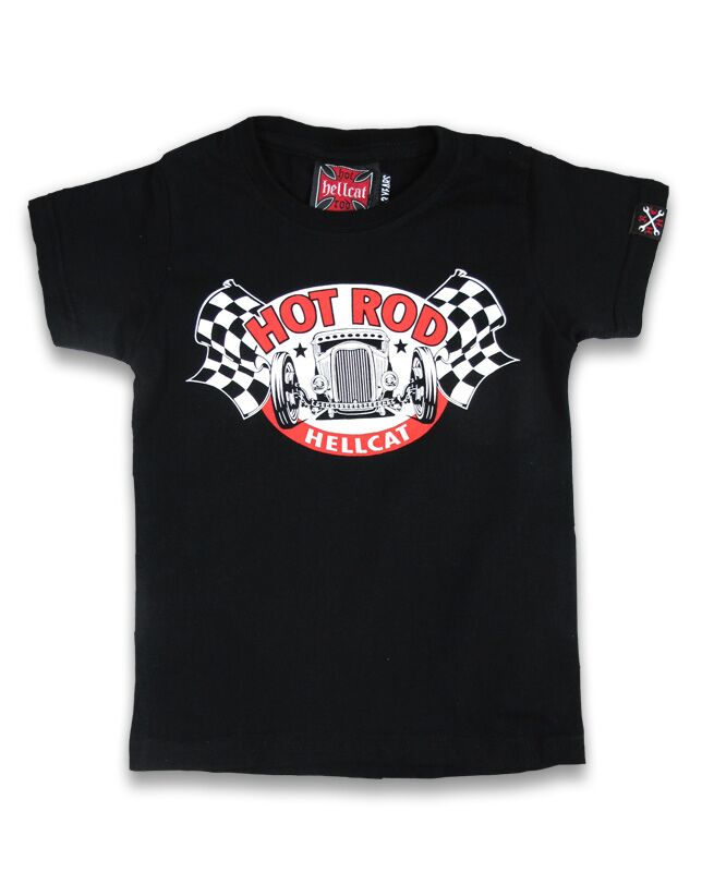 Hot Rod Hellcat Flag - T-paita