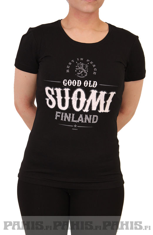 Suomi - Lady Fit T-paita