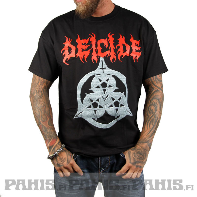 Deicide Once Upon The Cross - T-paita