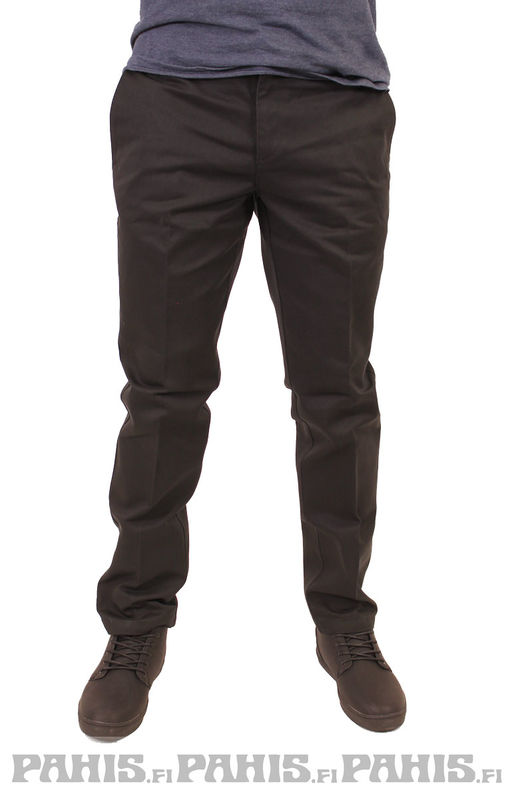 Dickies Slim Fit Work - Housut, musta