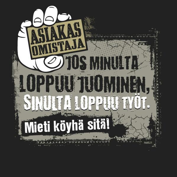 Asiakasomistaja T-paita · Topit ja paidat suomesta 7b6020704c